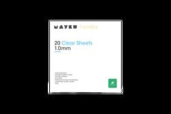 Mayku FormBox Transparente Blätter 1-0mm (20er Pack)