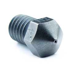 Micro Swiss M2 Hardened High Speed Steel Nozzle RepRap - M6 Thread 1-75mm Filament - 0-40mm