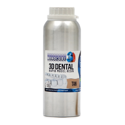 Monocure 3D - Rapid Dental Resin - 1-25 l - Tan