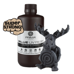 PrimaCreator Super Strong UV Resin - 1000 ml - Schwarz