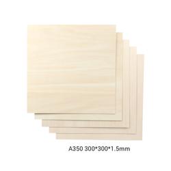 Snapmaker Basswood Sheet-A350 - 300x300x1-5mm - 5-pack