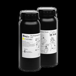 XYZprinting UV-Resin giessbar - 2 x 500 ml Flaschen (gelb)